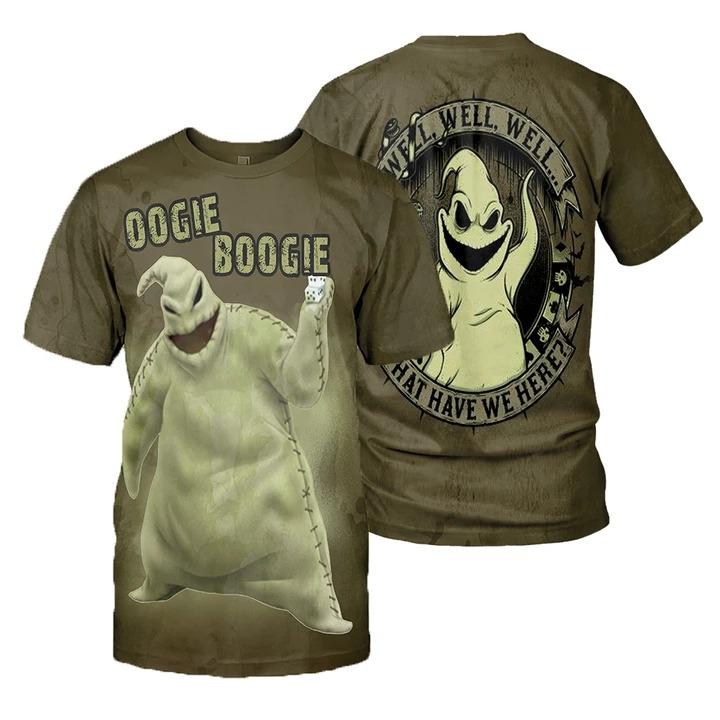 Oogie Boogie 3d shirt