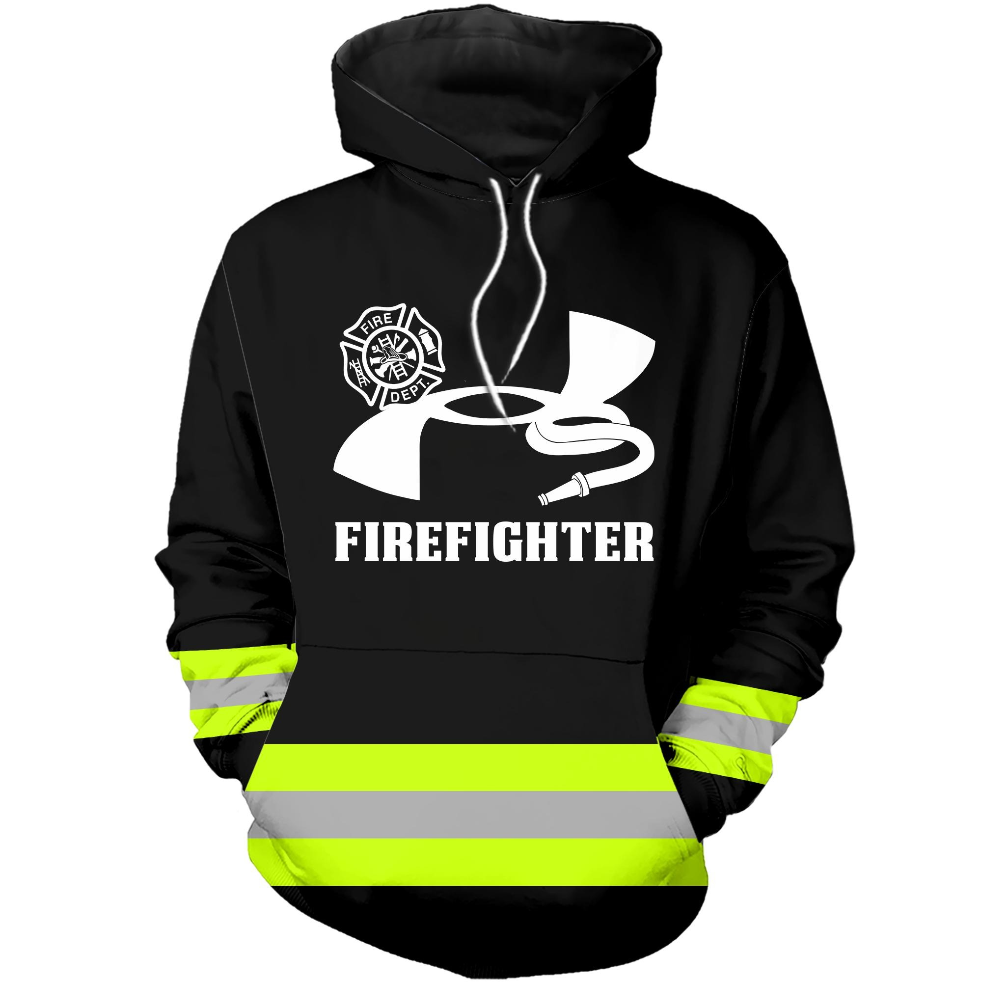 Under Armour firefighter hoodie