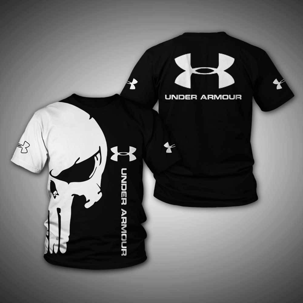 Under Armour skull 3d hoodie and shirt