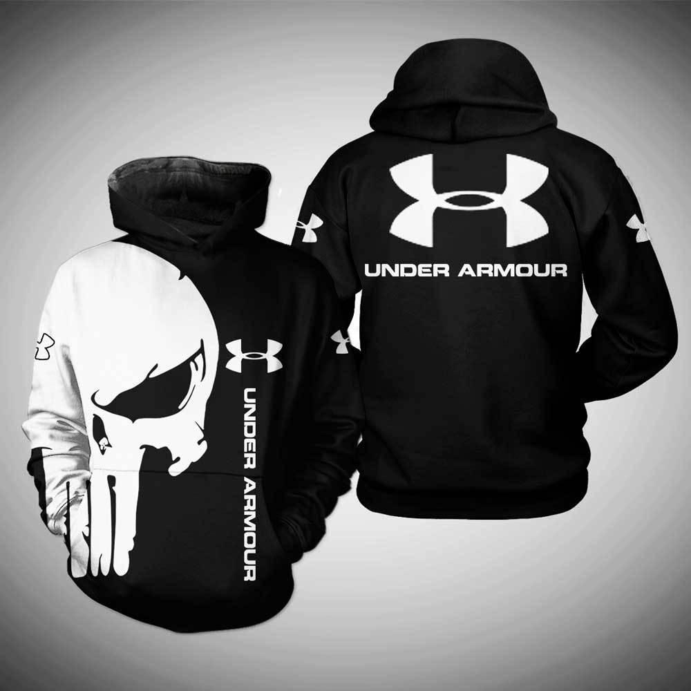 Under Armour skull 3d hoodie
