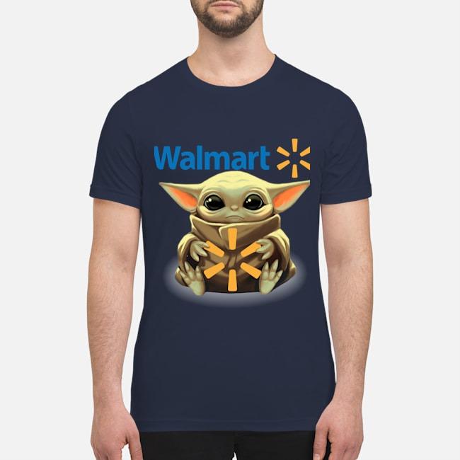 Baby Yoda Walmart premium men's shirt