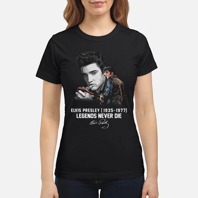 Elvis Presley legends never die classic shirt