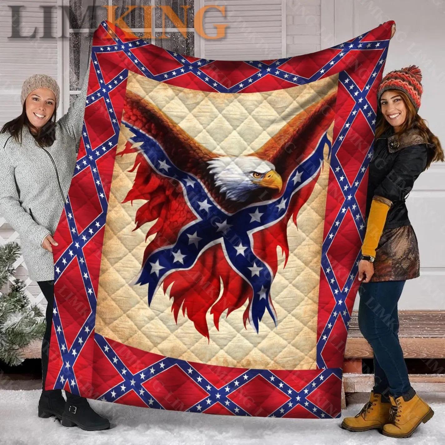 Confederate eagle quilt