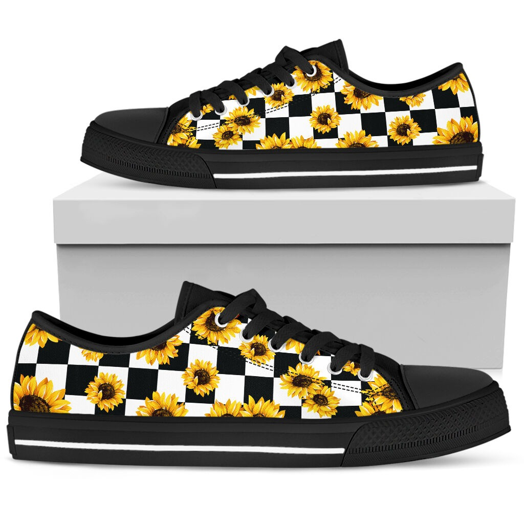 Sunflower low top hot shoes