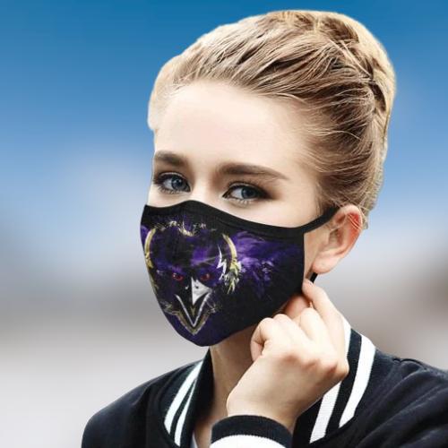 Baltimore Ravens cloth face mask