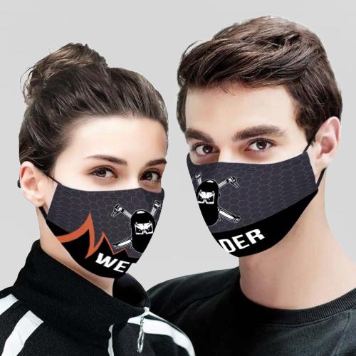 Welder 3D Face Mask