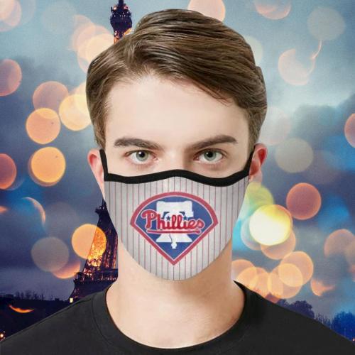 Detroit Tigers Phillies cloth face mask