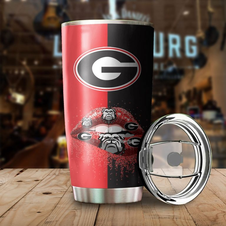 Georgia Bulldogs girl custom name hot tumbler