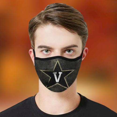Vanderbilt University Athletics Face Mask