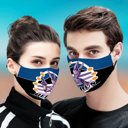 Beerus Dragon Ball Z 3D Face Mask
