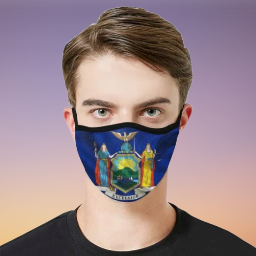 Excelsior New York state Face Mask