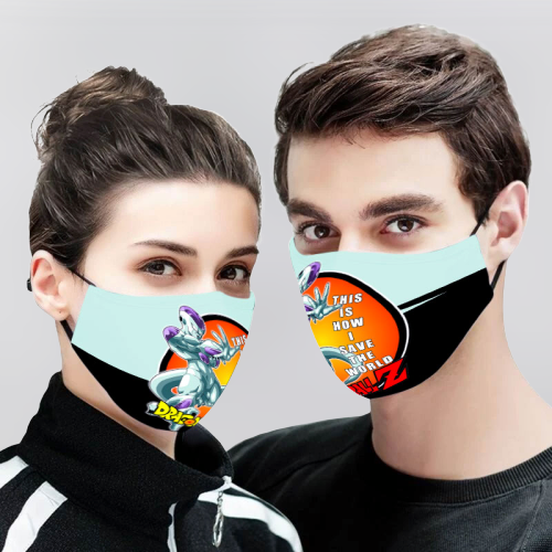 Piccolo Dragon Ball Z 3D Cloth Face Mask