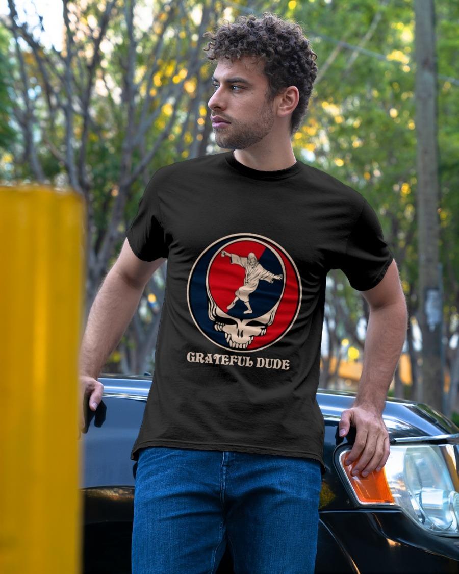 Jesus grateful dead grateful dude shirt