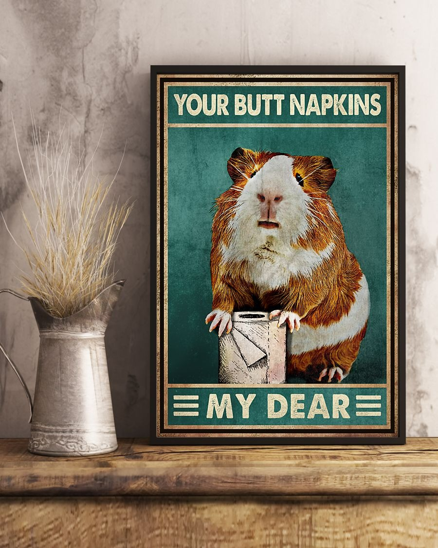Hamster your butt napkins my dear poster