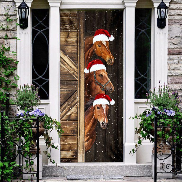Horses Door Cover