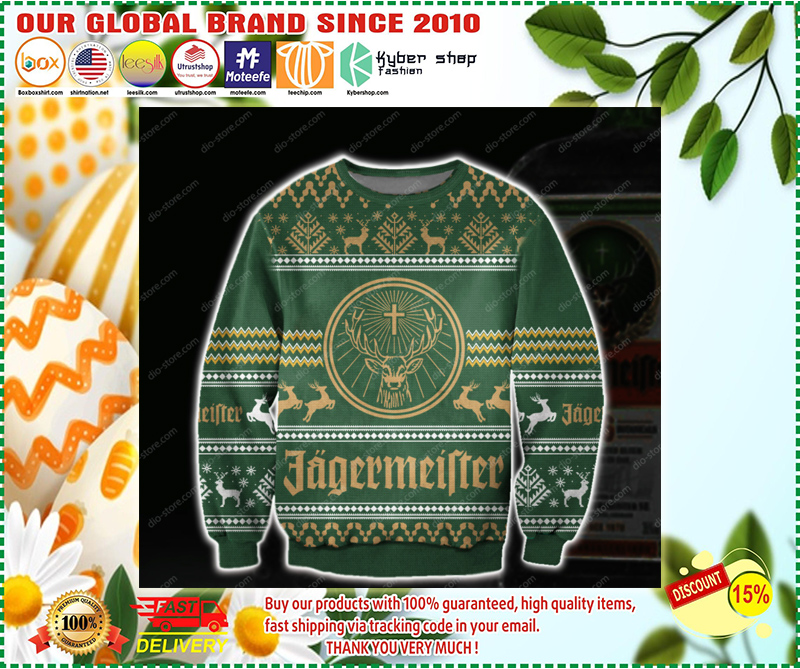 JAGERMEISTER UGLY CHRISTMAS SWEATER