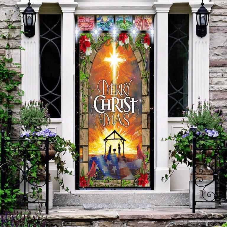 Merry Christmas Door Cover