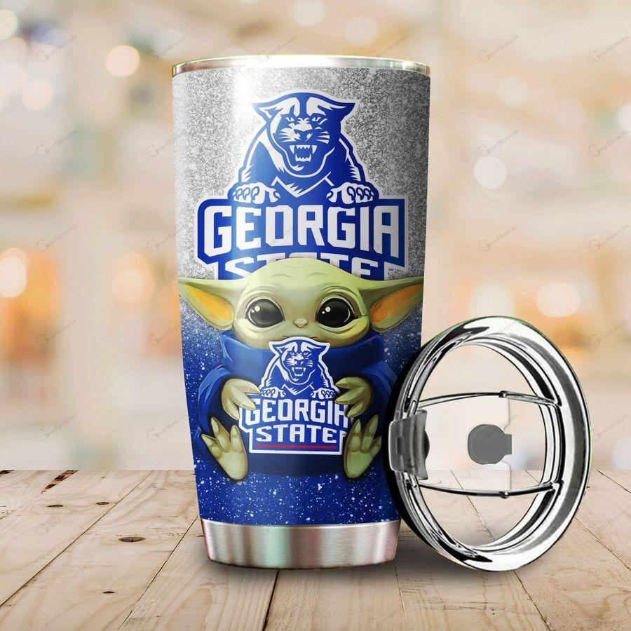 Georgia State Panthers Yoda Tumbler