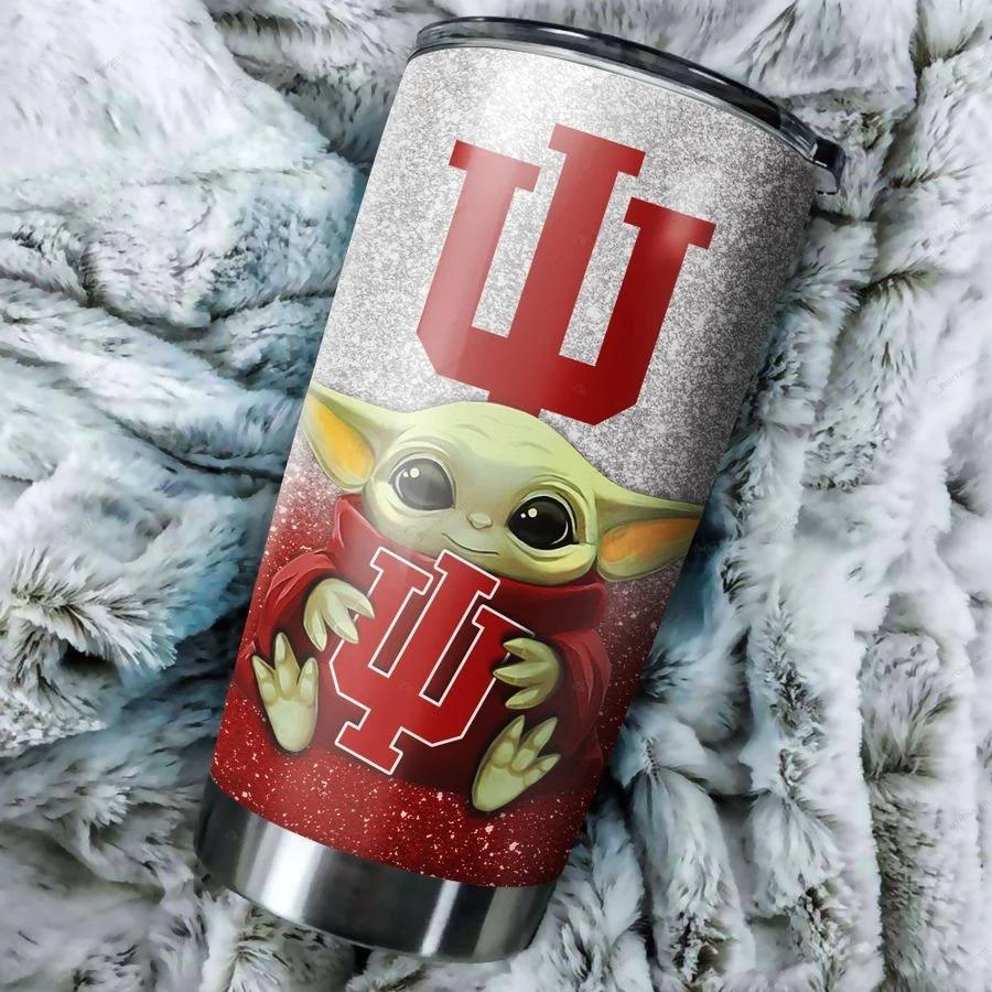 Indiana Hoosiers Yoda Tumbler