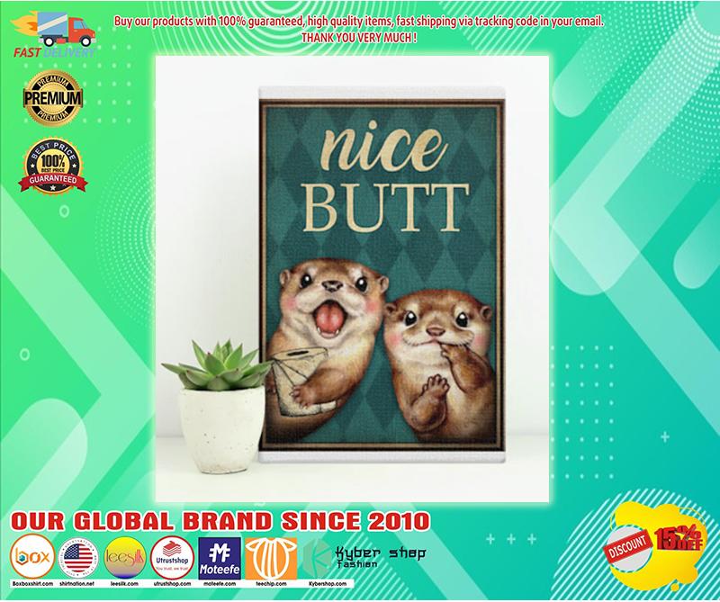 Otter nice butt poster