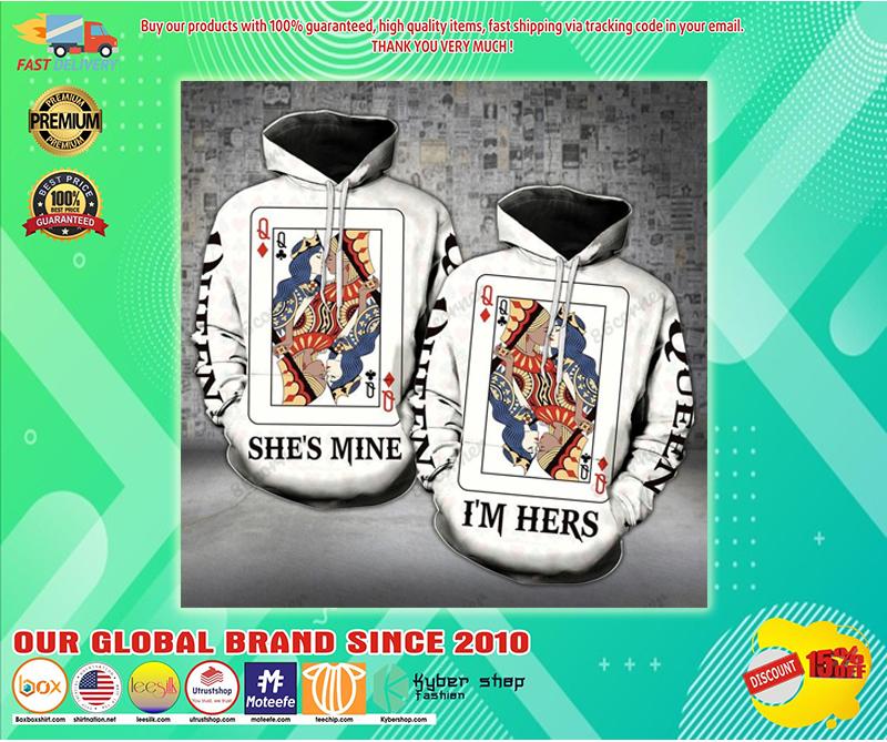 Queens she's mine hoodie