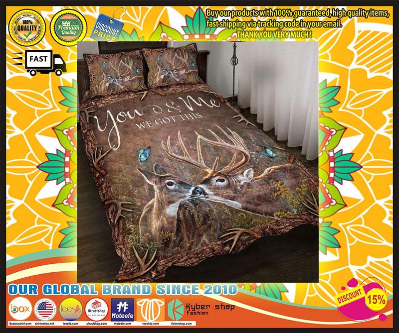 Hunting Deer bedding set 1