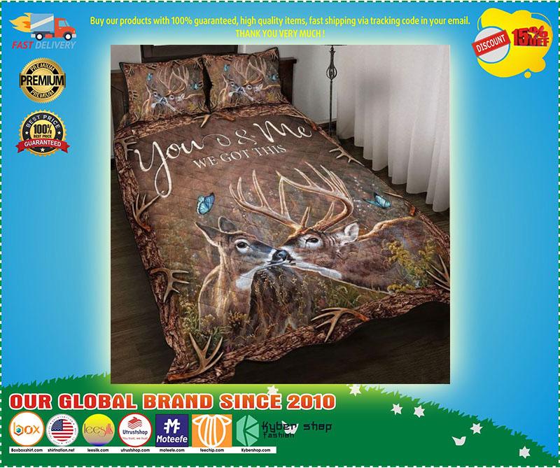 Hunting Deer bedding set 2