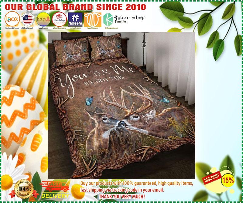 Hunting Deer bedding set 3