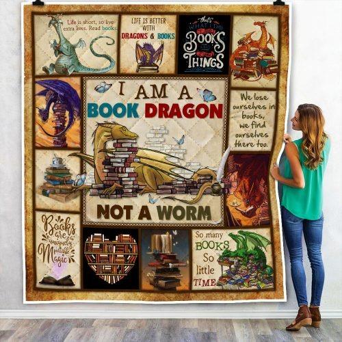 I am a book dragon not a warm quilt 2