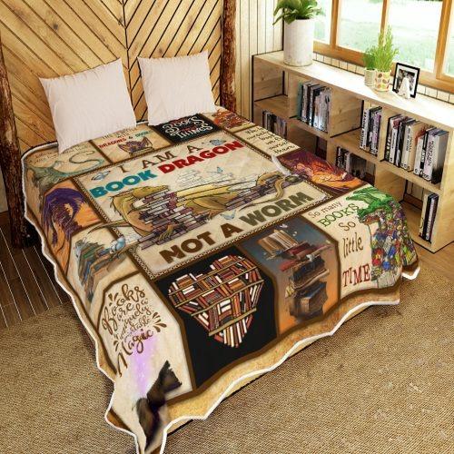 I am a book dragon not a warm quilt 3