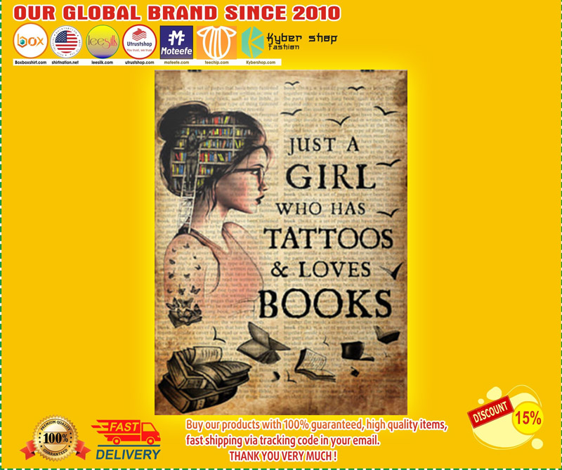 Just a girl who loves books poster 3