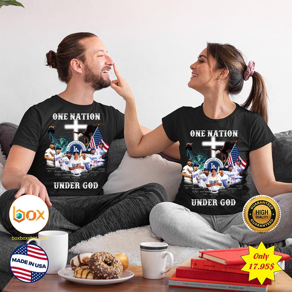 Los angeles dodgers One nation under god Shirt4