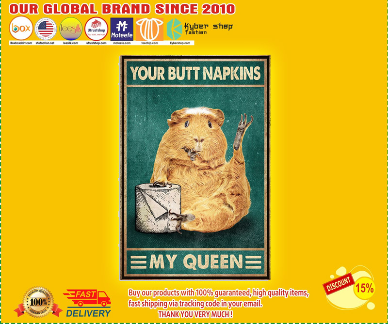 Mouse your butt napkins my Queen poster 2
