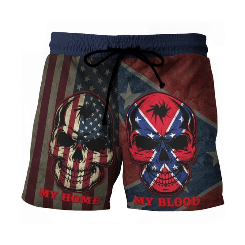Southern American flag My home my blood pant 2
