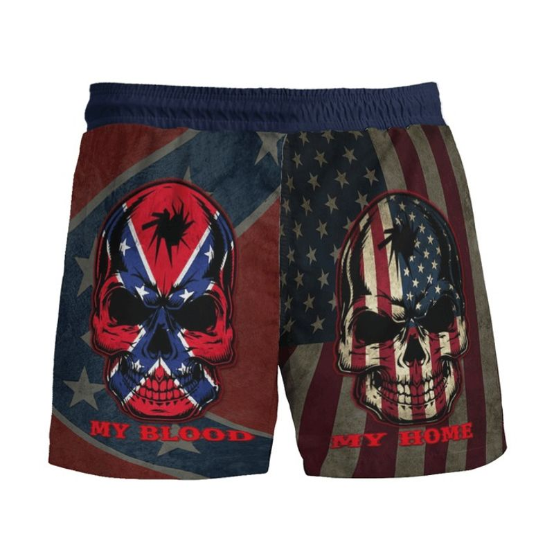 Southern American flag My home my blood pant 3