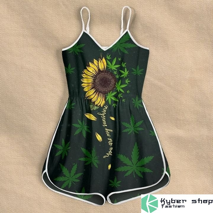 Weed you are my sunshine rompers