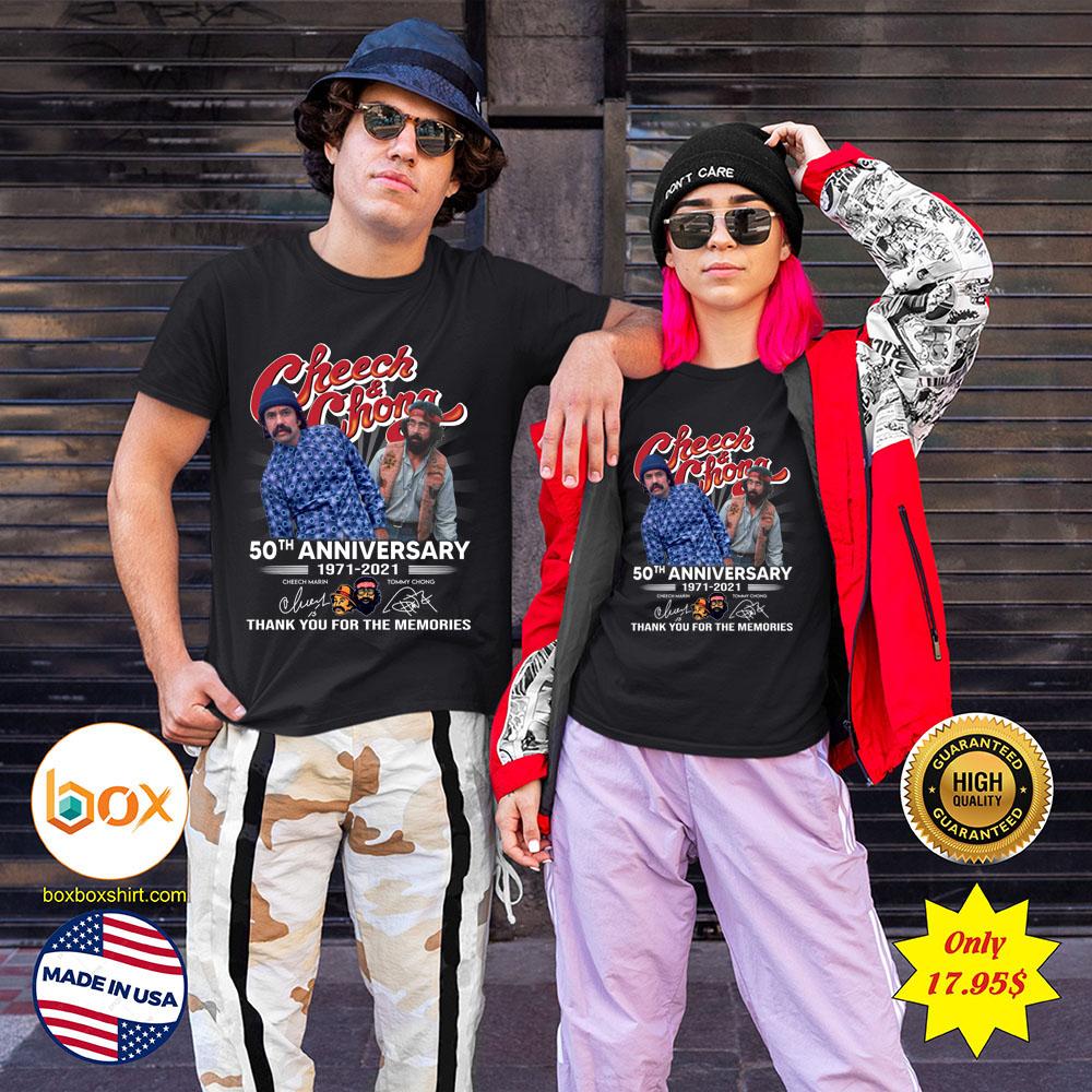 Cheech and Chong 50th anniversary 1971 2021 Shirt2