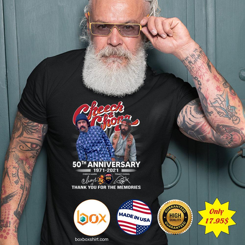Cheech and Chong 50th anniversary 1971 2021 Shirt3