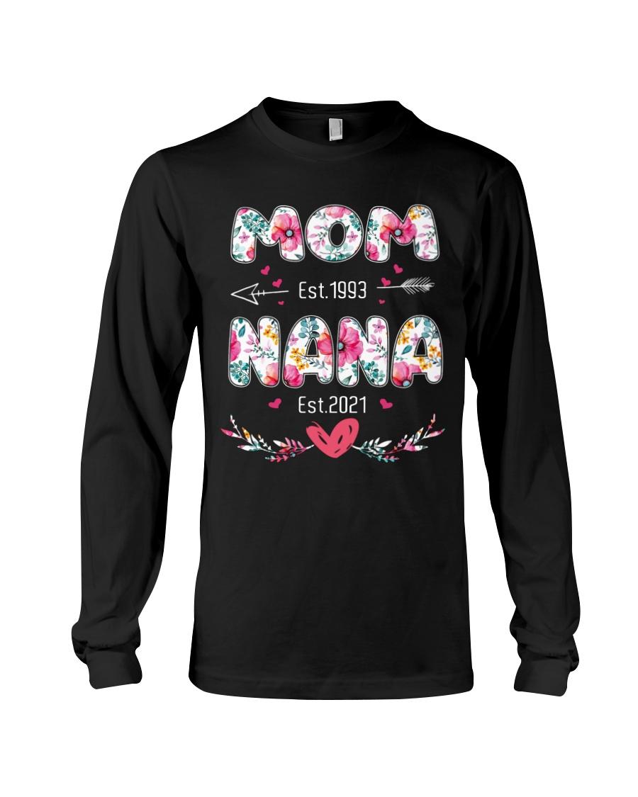 Mom est.1993 NaNa Est.2021 Shirt7