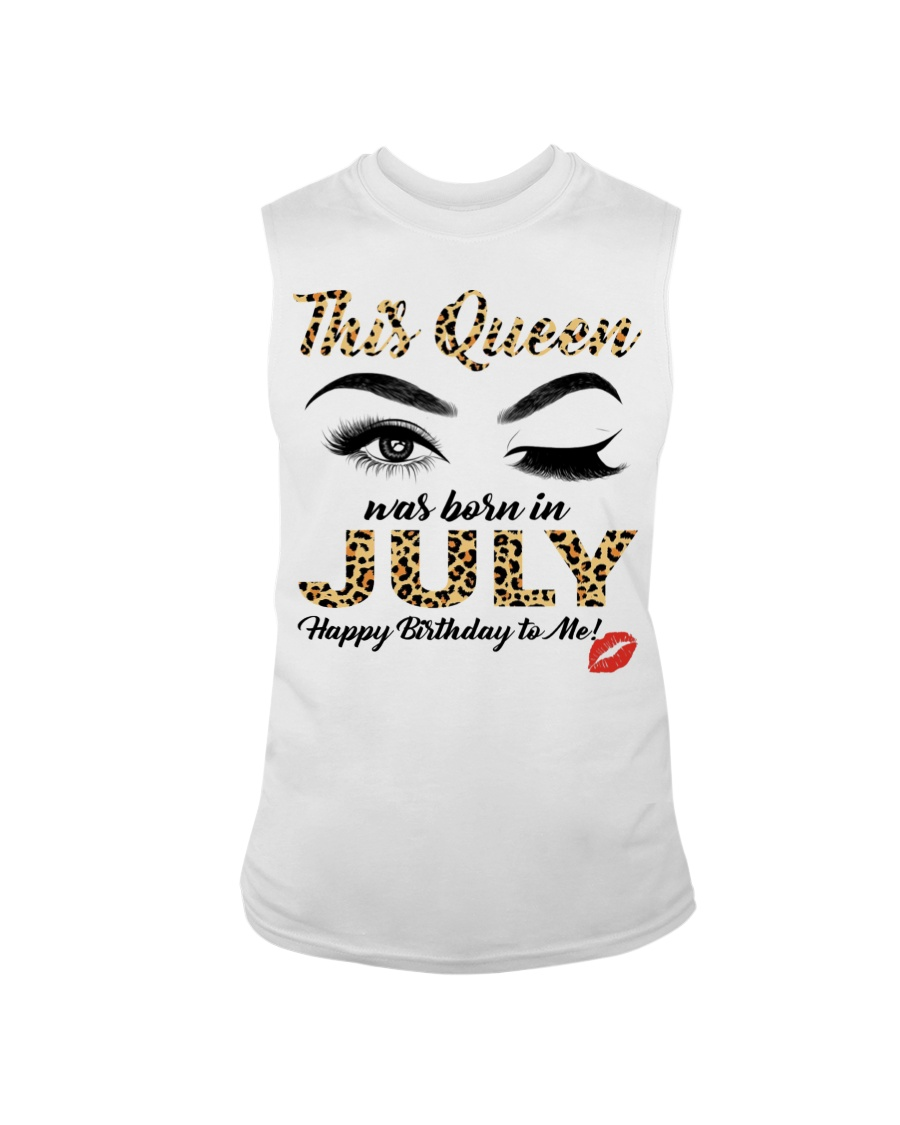 This Queen was Born in July Happy Birthday to me Shirt8
