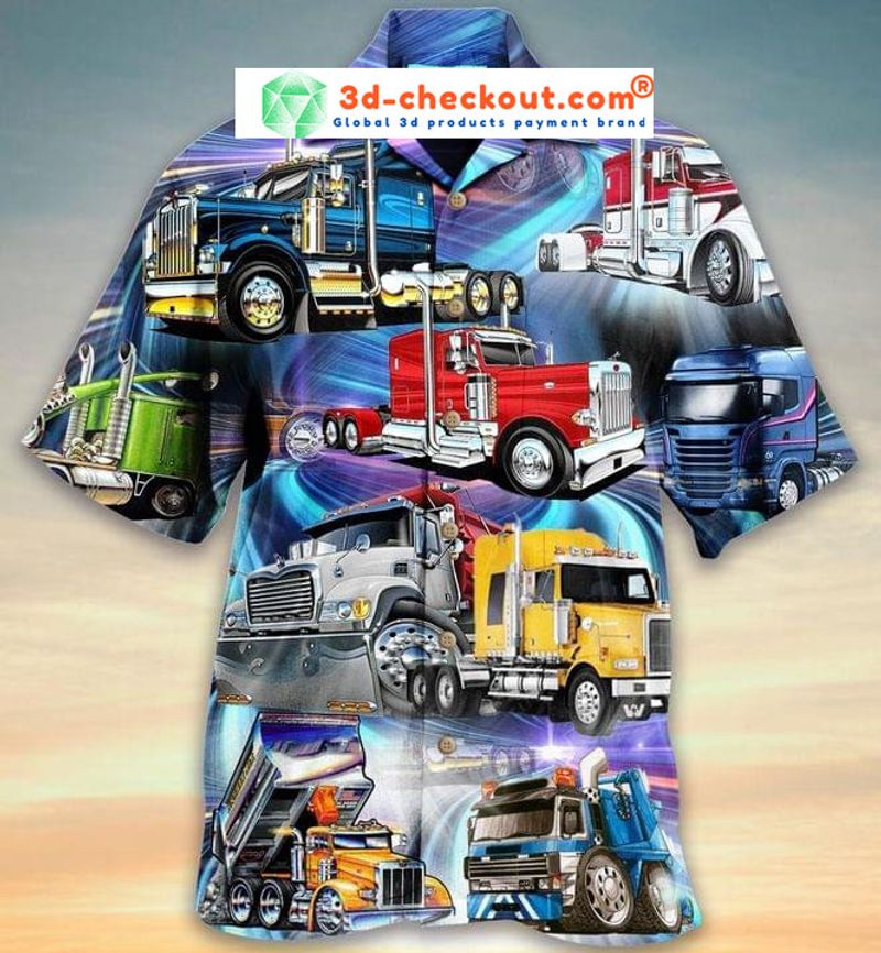 Trucks are like kisses you cant just have one unisex hawaiian shirt