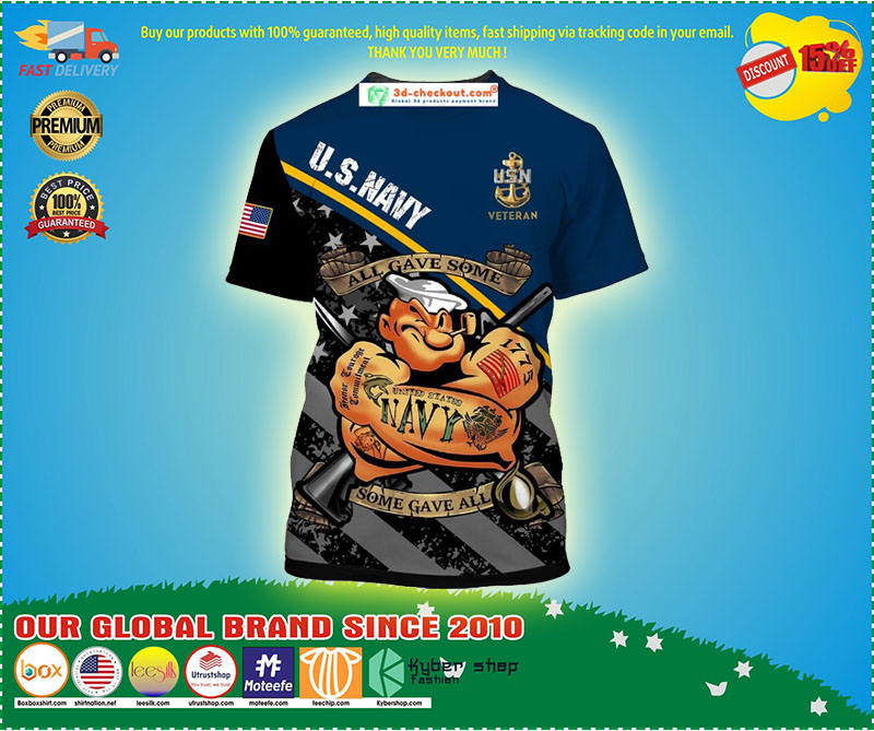 Us navy all gave some T shirt 3