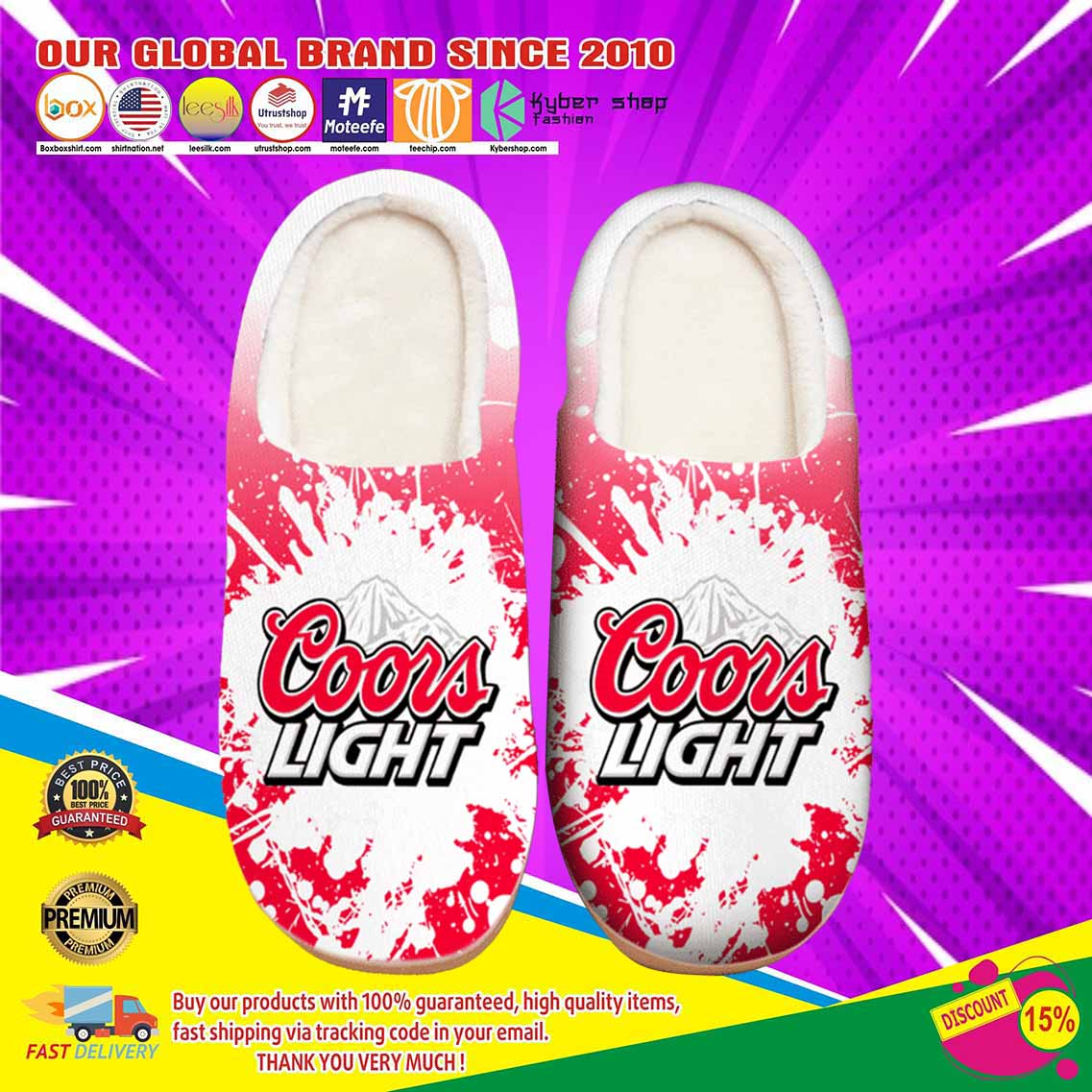 Amazon Coors Light Beer Shoes Slippers 5 1