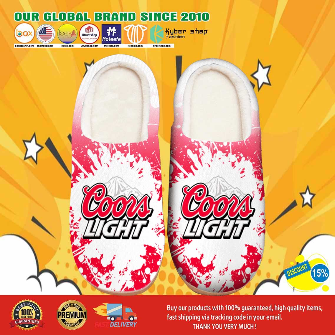 Amazon Coors Light Beer Shoes Slippers 7