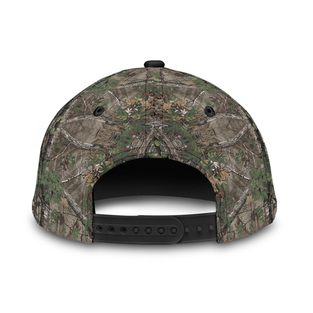 Cross American flag christian hunting fishing cap 2