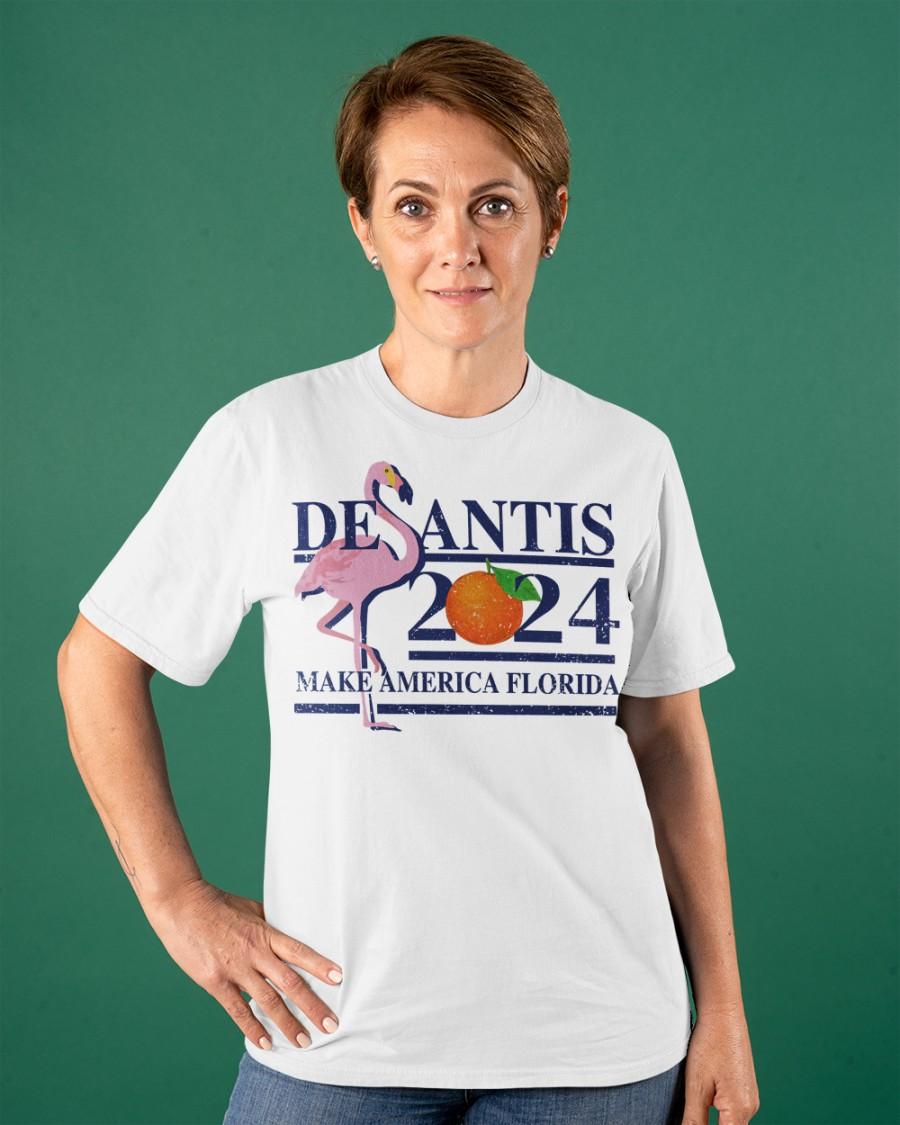 Flamingo Desantis 2024 Make America Florida Shirt8
