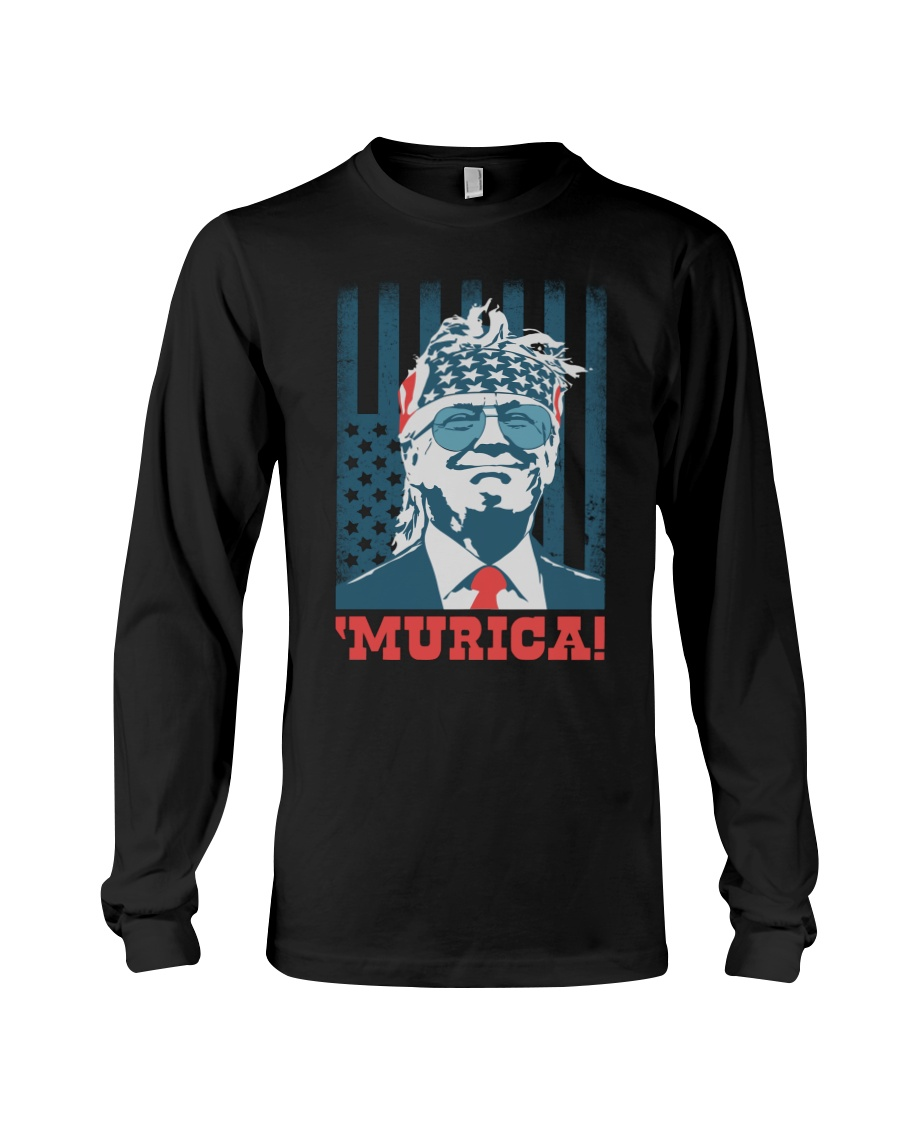Former President Donal Trump Murica Shirt4