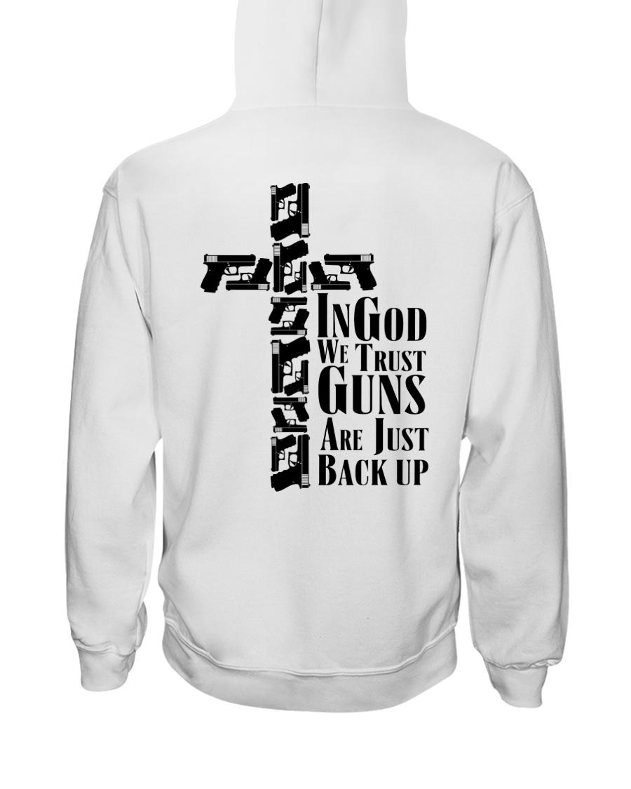 Guns Tingod We Trust Guns Are Just Back Up Shirt3