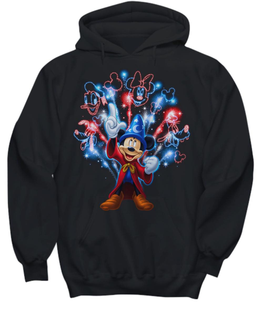 Mickey mouse firework Shirt Hoodie1