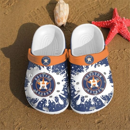 Mlb Houston Atros Crocs Clog Shoes3